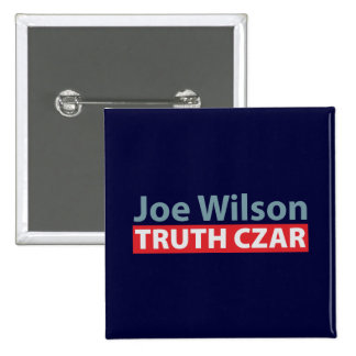 Joe Wilson Truth Czar 15 Cm Square Badge