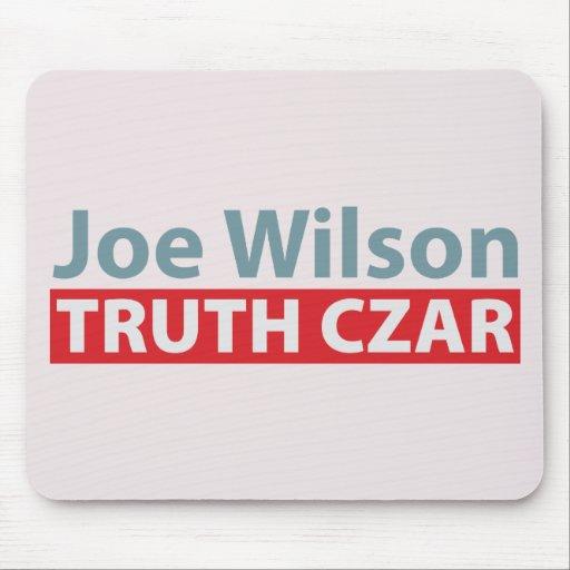 Joe Wilson Truth Czar Mousepads