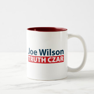 Joe Wilson Truth Czar Mug