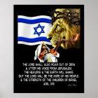 Joel 3:16 poster