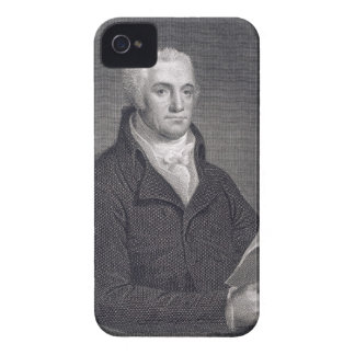 Joel Barlow (1754-1812), engraved by Asher Brown D iPhone 4 Case-Mate Case
