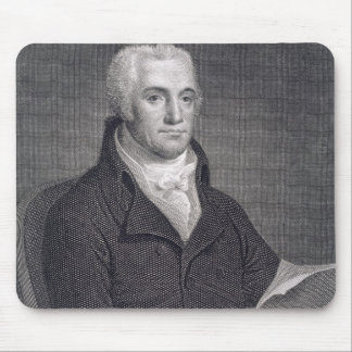 Joel Barlow (1754-1812), engraved by Asher Brown D Mouse Pad