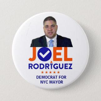 Joel Rodriguez for NYC Mayor in 2017 7.5 Cm Round Badge
