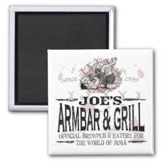 Joe's Armbar & Grill MMA Gear Magnet