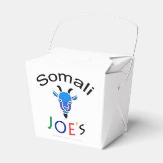 Joe's official Billy Blue Goat Take-Out Box Wedding Favour Box