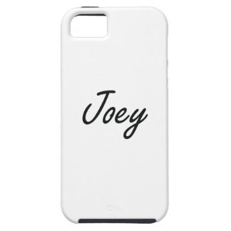 Joey Artistic Name Design Tough iPhone 5 Case