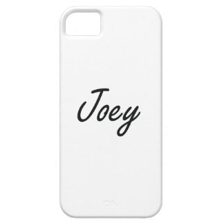 Joey Artistic Name Design iPhone 5 Case
