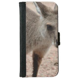 Joey Kangaroo Ready to Hop iPhone 6 Wallet Case