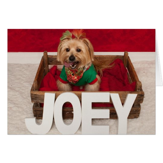Joey's Favourate Time of Year Card