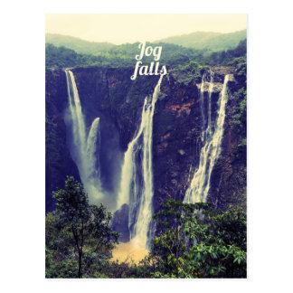 Jog Falls Postcard