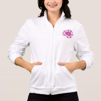 Jogger Fleece Printed Jacket