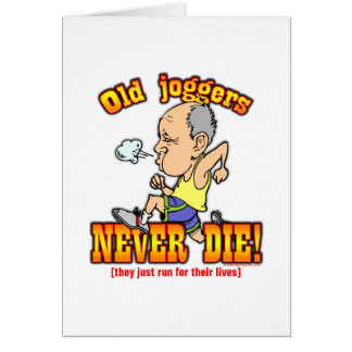 Joggers Card