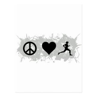 Jogging 1 postcard