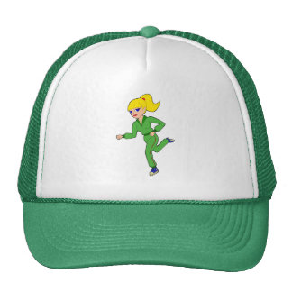 jogging girl Hat