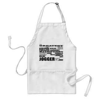 Jogging & Joggers : Greatest Jogger the World Ever Standard Apron