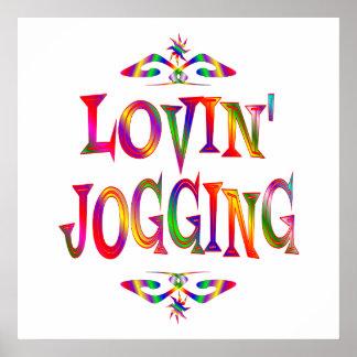 Jogging Lover Poster