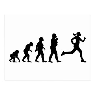 Jogging Postcard