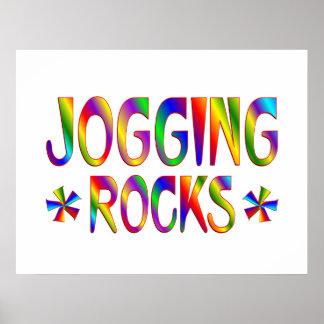 Jogging Rocks Posters