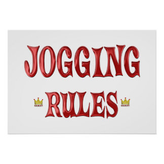 Jogging Rules Print