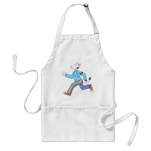 Jogging Shirt | Cute Cow Jogging Shirt Aprons
