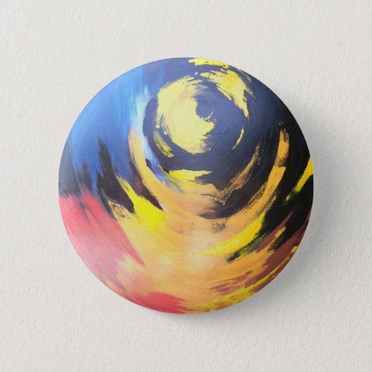 Jogo com fogo 6 cm round badge