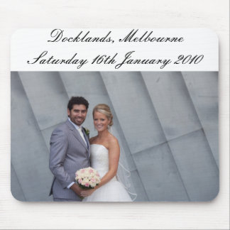 Joh & Nuni's VIC Wedding Mouse Mat
