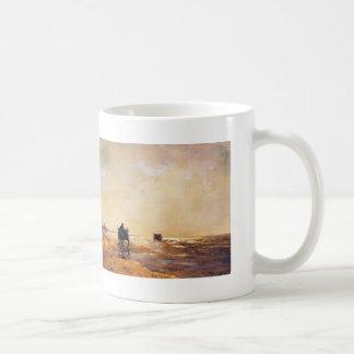 Johan Hendrik Weissenbruch- Beach view Mug