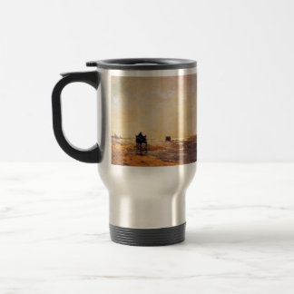 Johan Hendrik Weissenbruch- Beach view Coffee Mug