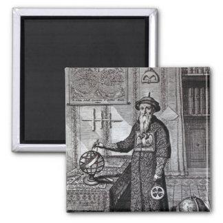 Johann Adam Schall von Bell Square Magnet