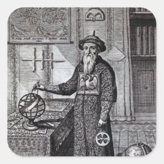 Johann Adam Schall von Bell Square Sticker