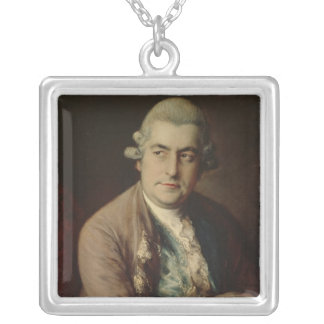Johann Christian Bach, 1776 Silver Plated Necklace