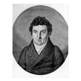 Johann Gottlieb Fichte Postcard
