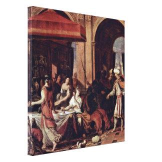 Johann Heiss - Feast of Esther Canvas Print