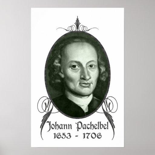 Johann Pachelbel Posters | Zazzle Y Intersection Sign