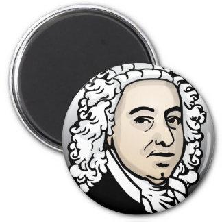 Johann Sebastian Bach 6 Cm Round Magnet