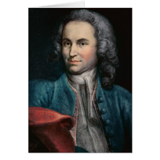 Johann Sebastian Bach c 1715 Card