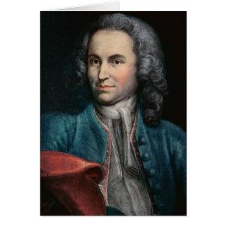 Johann Sebastian Bach  c.1715 Greeting Card