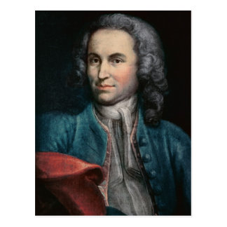 Johann Sebastian Bach  c.1715 Postcard