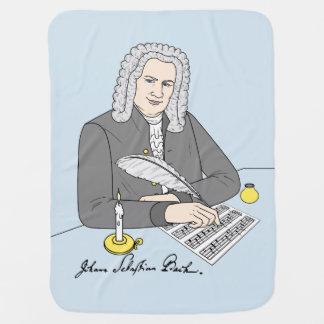 Johann Sebastian Bach drawn Pramblankets