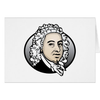 Johann Sebastian Bach Greeting Card