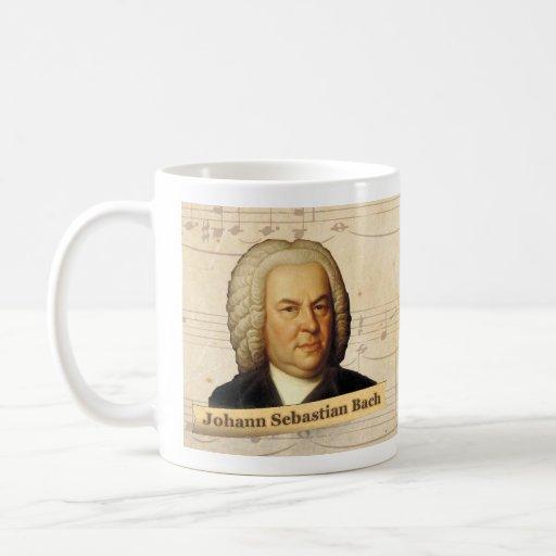 Johann Sebastian Bach Historical Mug