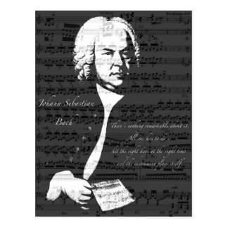 Johann Sebastian Bach Postcard