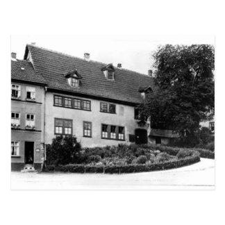 Johann Sebastian Bach s house Postcards
