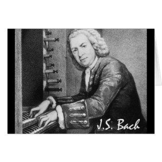 Johann Sebastian Bach Stuff Note Card