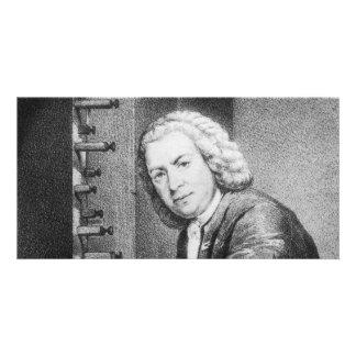 Johann Sebastian Bach Stuff Personalised Photo Card
