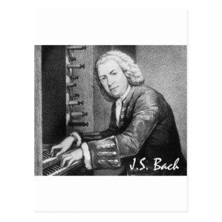 Johann Sebastian Bach Stuff Postcard