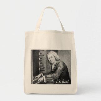 Johann Sebastian Bach Stuff Grocery Tote Bag