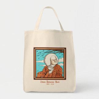Johann Sebastian Bach Tote Grocery Tote Bag