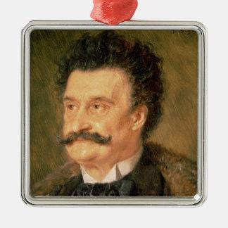 Johann Strauss the Younger, 1895 Christmas Ornament