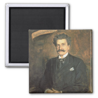Johann Strauss the Younger, 1895 Magnet